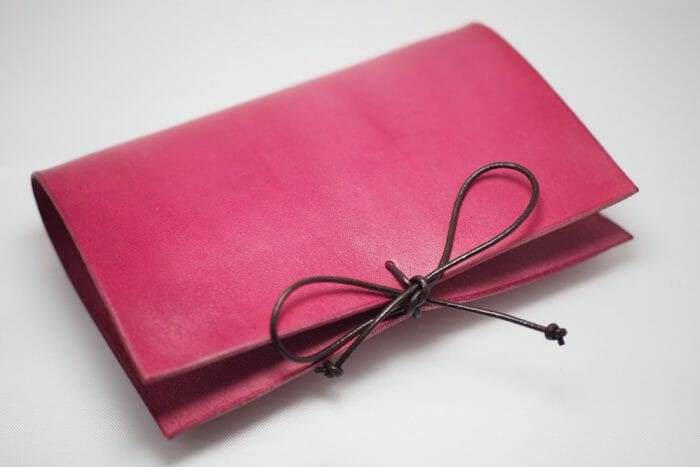 Kožený zápisník/diář A4