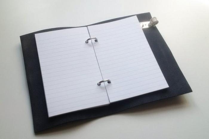 Papíry k obalu na zápisník A6