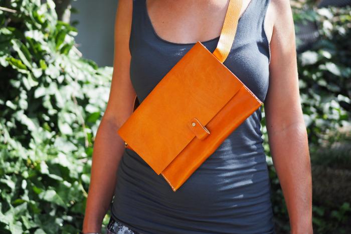 Ledvinka MontMat oranžová