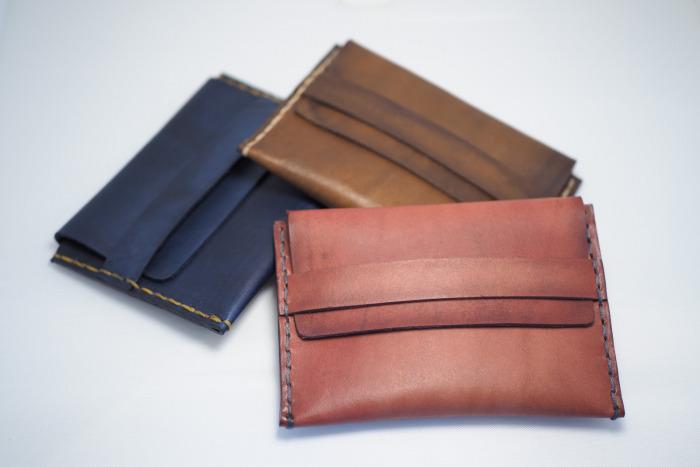 Tenká kožená peněženka typ 2