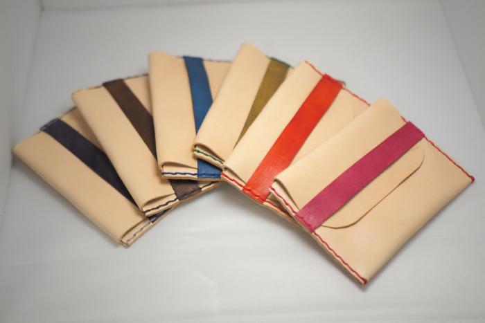 Tenká kožená peněženka typ 1