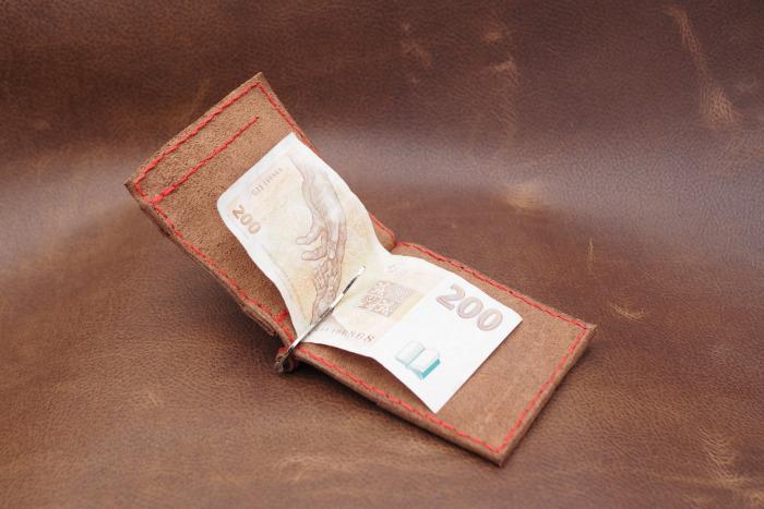 Dollarovka červené obšití