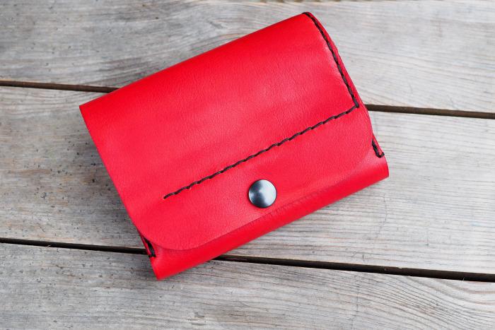Peněženka MontMat červená