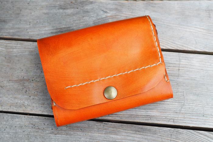 Peněženka MontMat oranžová vintage