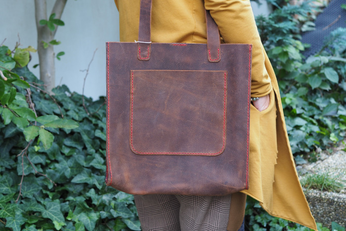 Kožená kabelka Mantova