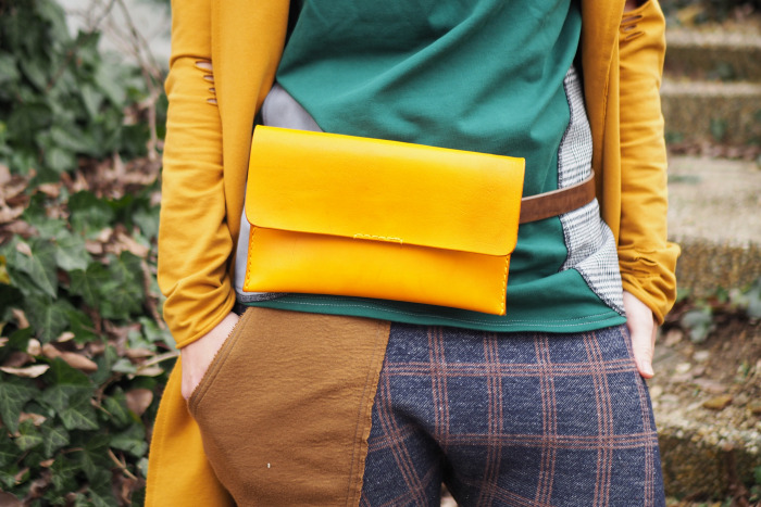 Ledvinka MontMat s páskem žlutá